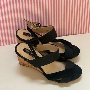 Issac Mizrahi Friend Wedge Sandals